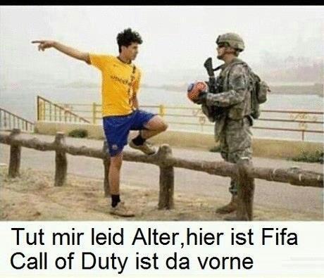 Fifa trifft CoD